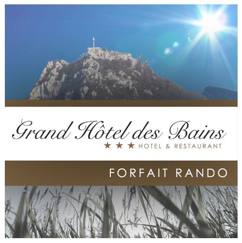 Coffret Cadeau Randonnée Hôtel Salins-les-Bains Jura