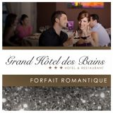 Forfait cadeau hôtel dîner romantique pour couple dans le Jura à Salins-les-Bains