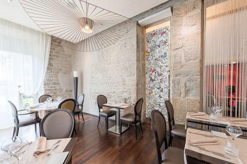 restaurant gastronomique des bains grand h tel des bains salins les bains. Black Bedroom Furniture Sets. Home Design Ideas